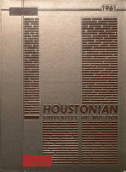1961 Edition, University of Houston - Houstonian Yearbook (Houston, TX)