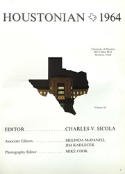 Page 3, 1964 Edition, University of Houston - Houstonian Yearbook (Houston, TX) online yearbook collection