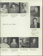 Page 17, 1952 Edition, Lindsay High School - Comet Yearbook (Lindsay, CA) online yearbook collection