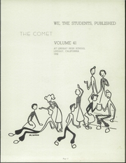 Page 7, 1952 Edition, Lindsay High School - Comet Yearbook (Lindsay, CA) online yearbook collection