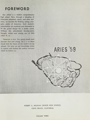 Page 5, 1959 Edition, Millikan High School - Aries Yearbook (Long Beach, CA) online yearbook collection