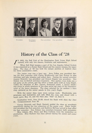 Page 15, 1928 Edition, Bell High School - Eagle Yearbook (Bell, CA) online yearbook collection