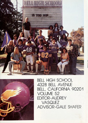 Page 5, 1982 Edition, Bell High School - Eagle Yearbook (Bell, CA) online yearbook collection
