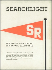 Page 7, 1958 Edition, San Rafael High School - Searchlight Yearbook (San Rafael, CA) online yearbook collection