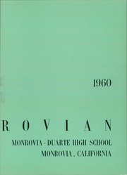 Page 7, 1960 Edition, Monrovia High School - Monrovian Yearbook (Monrovia, CA) online yearbook collection