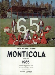 Page 5, 1965 Edition, Sandpoint High School - Monticola Yearbook (Sandpoint, ID) online yearbook collection