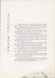 Page 13, 1937 Edition, Nampa High School - Sage Yearbook (Nampa, ID) online yearbook collection