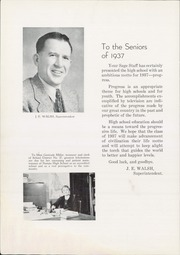 Page 14, 1937 Edition, Nampa High School - Sage Yearbook (Nampa, ID) online yearbook collection