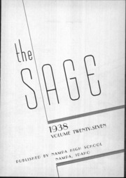 Page 2, 1938 Edition, Nampa High School - Sage Yearbook (Nampa, ID) online yearbook collection