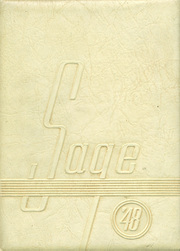 Nampa High School - Sage Yearbook (Nampa, ID) online yearbook collection, 1948 Edition, Page 1