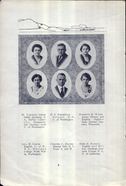 Page 12, 1922 Edition, Lewiston High School - Bengal Yearbook (Lewiston, ID) online yearbook collection