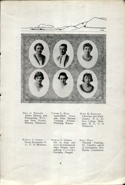 Page 13, 1922 Edition, Lewiston High School - Bengal Yearbook (Lewiston, ID) online yearbook collection