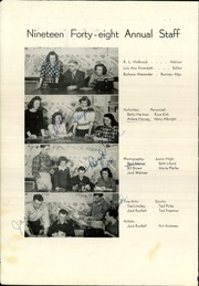 Page 6, 1948 Edition, Lewiston High School - Bengal Yearbook (Lewiston, ID) online yearbook collection
