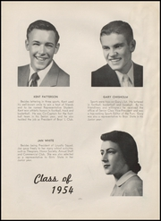 Page 11, 1954 Edition, Lewiston High School - Bengal Yearbook (Lewiston, ID) online yearbook collection