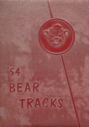 1954 Edition, Moscow High School - Bear Tracks Yearbook (Moscow, ID)