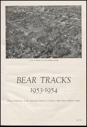Page 7, 1954 Edition, Moscow High School - Bear Tracks Yearbook (Moscow, ID) online yearbook collection