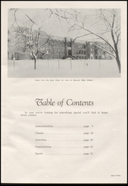 Page 9, 1954 Edition, Moscow High School - Bear Tracks Yearbook (Moscow, ID) online yearbook collection