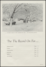 Page 7, 1956 Edition, Moscow High School - Bear Tracks Yearbook (Moscow, ID) online yearbook collection