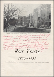Page 5, 1957 Edition, Moscow High School - Bear Tracks Yearbook (Moscow, ID) online yearbook collection