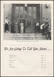 Page 7, 1957 Edition, Moscow High School - Bear Tracks Yearbook (Moscow, ID) online yearbook collection