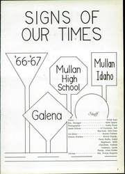 Page 5, 1967 Edition, Mullan High School - Galena Yearbook (Mullan, ID) online yearbook collection
