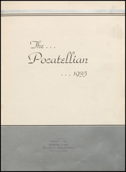 Page 7, 1935 Edition, Pocatello High School - Pocatellian Yearbook (Pocatello, ID) online yearbook collection