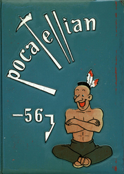 Pocatello High School - Pocatellian Yearbook (Pocatello, ID) online yearbook collection, 1956 Edition, Page 1