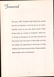 Page 8, 1957 Edition, Pocatello High School - Pocatellian Yearbook (Pocatello, ID) online yearbook collection