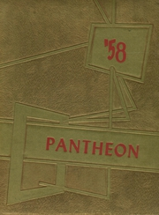1958 Edition, Minico High School - Pantheon Yearbook (Rupert, ID)