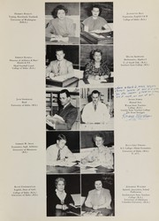 Page 15, 1949 Edition, Caldwell High School - Cougar Yearbook (Caldwell, ID) online yearbook collection