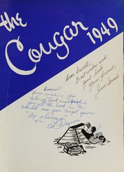 Page 5, 1949 Edition, Caldwell High School - Cougar Yearbook (Caldwell, ID) online yearbook collection