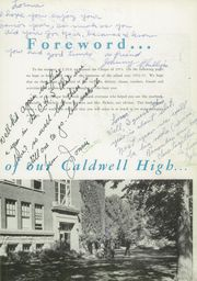 Page 7, 1953 Edition, Caldwell High School - Cougar Yearbook (Caldwell, ID) online yearbook collection