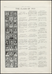 Page 8, 1933 Edition, Burley High School - Bobcat Yearbook (Burley, ID) online yearbook collection