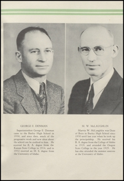 Page 11, 1937 Edition, Burley High School - Bobcat Yearbook (Burley, ID) online yearbook collection