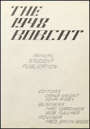Page 7, 1948 Edition, Burley High School - Bobcat Yearbook (Burley, ID) online yearbook collection