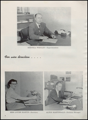 Page 12, 1952 Edition, Burley High School - Bobcat Yearbook (Burley, ID) online yearbook collection