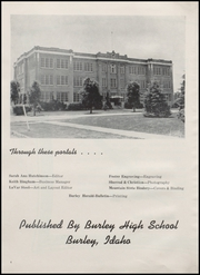 Page 8, 1952 Edition, Burley High School - Bobcat Yearbook (Burley, ID) online yearbook collection
