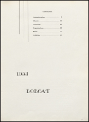 Page 7, 1953 Edition, Burley High School - Bobcat Yearbook (Burley, ID) online yearbook collection