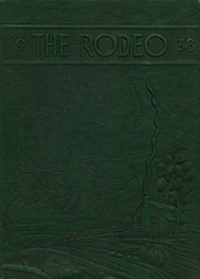 1938 Edition, Rigby High School - Rodeo Yearbook (Rigby, ID)