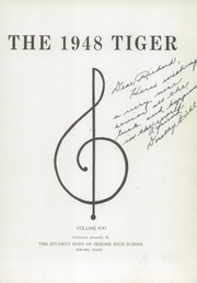 Page 7, 1948 Edition, Jerome High School - Tiger Yearbook (Jerome, ID) online yearbook collection