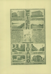 Page 10, 1924 Edition, Weiser High School - Pineburr Yearbook (Weiser, ID) online yearbook collection