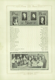 Page 14, 1924 Edition, Weiser High School - Pineburr Yearbook (Weiser, ID) online yearbook collection