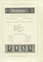 Page 15, 1924 Edition, Weiser High School - Pineburr Yearbook (Weiser, ID) online yearbook collection