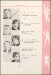 Page 15, 1931 Edition, Weiser High School - Pineburr Yearbook (Weiser, ID) online yearbook collection