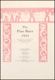 Page 9, 1931 Edition, Weiser High School - Pineburr Yearbook (Weiser, ID) online yearbook collection