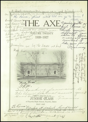 Page 5, 1927 Edition, Payette High School - Axe Yearbook (Payette, ID) online yearbook collection