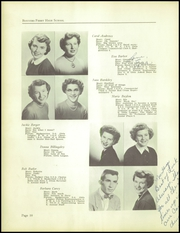Page 14, 1955 Edition, Bonners Ferry High School - Badger Tales Yearbook (Bonners Ferry, ID) online yearbook collection