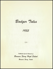 Page 5, 1955 Edition, Bonners Ferry High School - Badger Tales Yearbook (Bonners Ferry, ID) online yearbook collection