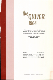 Page 5, 1964 Edition, Preston High School - Quiver Yearbook (Preston, ID) online yearbook collection