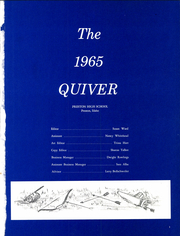 Page 5, 1965 Edition, Preston High School - Quiver Yearbook (Preston, ID) online yearbook collection